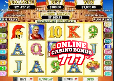 Caesars Treasure Slots - Play Online for Free or Real Money