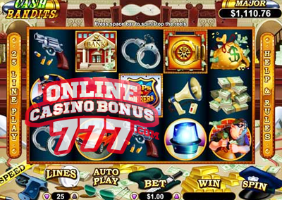 Cash Bandits Video Slots Game Reviews At RTG Casinos