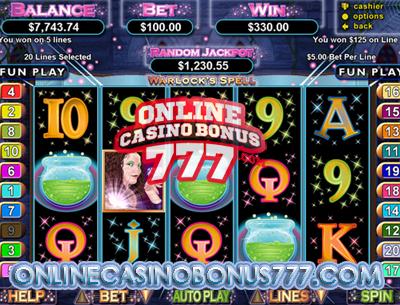 Warlocks Spell Video Slots Game Reviews At RTG Casinos
