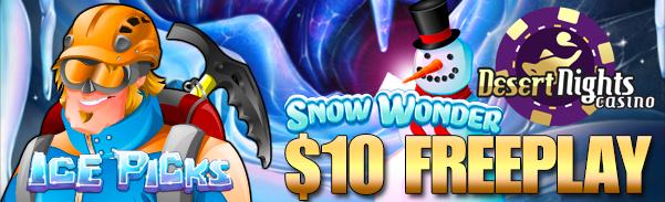 Desert Nights USA Casinos $10 Pre-Christmas Free-Play Bonuses