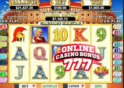 Caesars Empire Slots Reviews At RTG Casinos