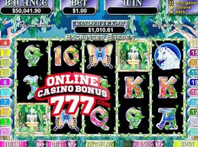 Enchanted Garden Slots Reviews At RTG Casinos