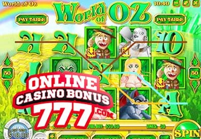 World Of Oz Online Slots Game Reviews At Rival Casinos