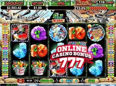 Elf Wars Video Slots Game Reviews At RTG Casinos
