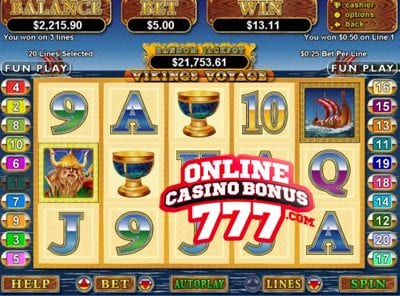 Vikings Voyage Slots Reviews At RTG Casinos