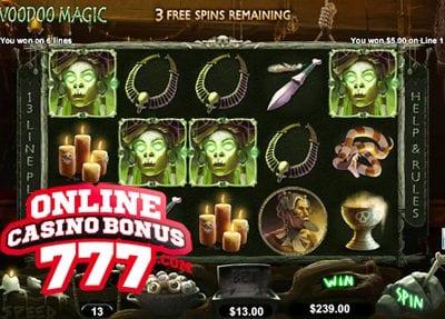 Voodoo Magic Slots Reviews At RTG Casinos