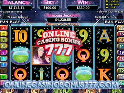 Warlocks Spell Video Slots Game Reviews At RTG Casinos