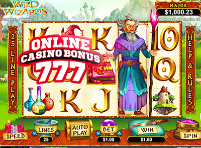 Wild Wizards Online Slots Game Reviews At RTG Casinos