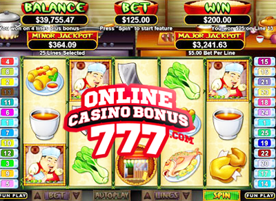 Wok and Roll Video Slots Reviews At RTG Casinos